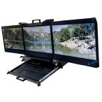 Clavier Ecran Rackable multi LCD