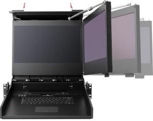 DSRD Double Ecran Clavier MIL 810 17.3 ou 19 pouces