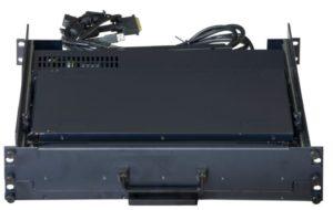 Triple Ecran Rackable avec Clavier SAIS 2U HD double Rail