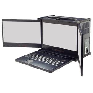 PC transportable Industriel Triple LCD