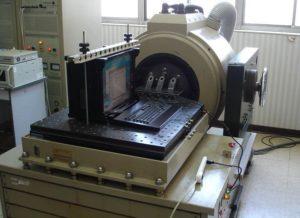 Transportable Industriel SAIS Test Vibration