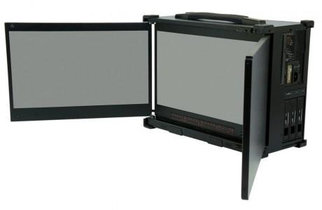PC transportable Industriel S7T Triple LCD